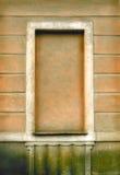 Immured-Fenster Stockbild