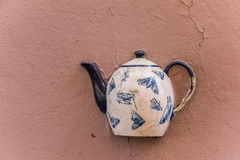 Immured teapot Royalty Free Stock Photo