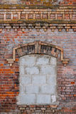 Immured window Royalty Free Stock Images