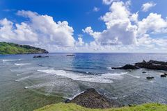 Imnajbu Alapad baixo naval velho, ilha de Batan, Batanes Imagem de Stock Royalty Free