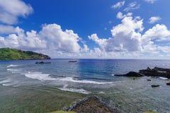 Imnajbu Alapad baixo naval velho, ilha de Batan, Batanes Imagem de Stock