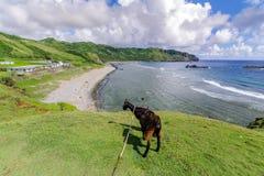 Imnajbu Alapad baixo naval velho, ilha de Batan, Batanes Imagens de Stock Royalty Free