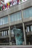 IMO International Maritime Organization. Headquarters on the Albert Embankment, London, England Stock Photo