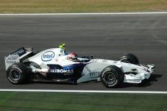 Imola - ΙΤΑΛΙΑ, στις 21 Μαρτίου: Robert Kubica σε Sauber BMW F1 στο 2006 F1 GP του Άγιου Μαρίνου στις 21 Μαρτίου 2006 Στοκ εικόνα με δικαίωμα ελεύθερης χρήσης