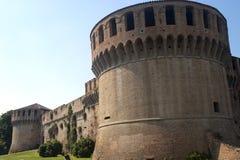 Imola (Bologna, Italië) - Middeleeuws kasteel stock afbeeldingen