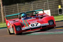 Imola Classic 22 oct 2016 - FERRARI 312 PB - driven by Steven READ and giovanni LAVAGGI during practice on imola Circuit Stock Photo