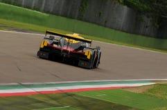Imola, Itália 13 de maio de 2016: PELA FÁBRICA ESP M Ligier JS P3 da VELOCIDADE - Nissan no círculo dos OLMOS de Imola 2016 Imagens de Stock Royalty Free