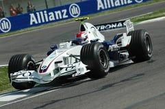 Imola - ITALIA, el 21 de marzo: Robert Kubica en Sauber BMW F1 en GP 2006 F1 de San Marino el 21 de marzo de 2006 Imagen de archivo