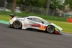 Imola, Italy May 13, 2016: INTER EUROPOL COMPETITION POL Ligier JS P3 at ELMS Round of Imola 2016 Royalty Free Stock Photo