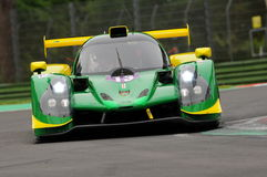 Imola, Italy May 13, 2016: INTER EUROPOL COMPETITION POL Ligier JS P3 at ELMS Round of Imola 2016 Royalty Free Stock Image