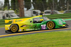 Imola, Italy May 13, 2016: INTER EUROPOL COMPETITION POL Ligier JS P3 at ELMS Round of Imola 2016 Stock Photography