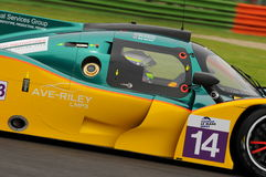 Imola, Italy May 13, 2016: MURPHYP3-3DIMENSIONAL.COM IRL Ginetta - Nissan at ELMS Round of Imola 2016 Royalty Free Stock Image