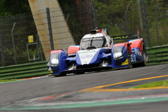 Imola, Italy May 13, 2016: SMP RACING RUS BR 01 - Nissan at ELMS Round of Imola 2016 Stock Photography