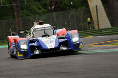 Imola, Italy May 13, 2016: SMP RACING RUS BR 01 - Nissan at ELMS Round of Imola 2016 Royalty Free Stock Photo