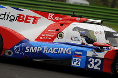 Imola, Italy May 13, 2016: SMP RACING RUS BR 01 - Nissan at ELMS Round of Imola 2016 Royalty Free Stock Image