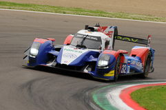 Imola, Italy May 13, 2016: SMP RACING RUS BR 01 - Nissan at ELMS Round of Imola 2016 Stock Photos