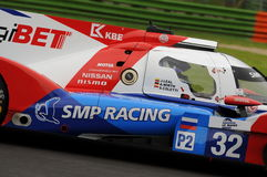 Imola, Italy May 13, 2016: SMP RACING RUS BR 01 - Nissan at ELMS Round of Imola 2016 Stock Images