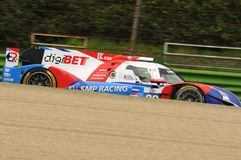 Imola, Italy May 13, 2016: SMP RACING RUS BR 01 - Nissan at ELMS Round of Imola 2016 Stock Image