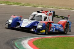 Imola, Italy May 13, 2016: SMP RACING RUS BR 01 - Nissan at ELMS Round of Imola 2016 Royalty Free Stock Photography