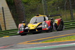 Imola, Italy May 13, 2016: BY SPEED FACTORY ESP M Ligier JS P3 - Nissan at ELMS Round of Imola 2016 Stock Images