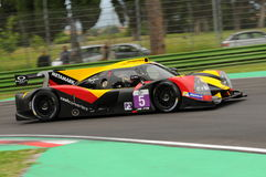 Imola, Italy May 13, 2016: BY SPEED FACTORY ESP M Ligier JS P3 - Nissan at ELMS Round of Imola 2016 Stock Photo