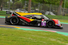Imola, Italy May 13, 2016: BY SPEED FACTORY ESP M Ligier JS P3 - Nissan at ELMS Round of Imola 2016 Stock Photography