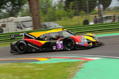 Imola, Italy May 13, 2016: BY SPEED FACTORY ESP M Ligier JS P3 - Nissan at ELMS Round of Imola 2016 Stock Photos