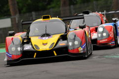 Imola, Italy May 13, 2016: BY SPEED FACTORY ESP M Ligier JS P3 - Nissan at ELMS Round of Imola 2016 Royalty Free Stock Photo