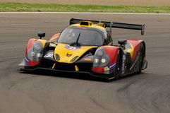 Imola, Italy May 13, 2016: BY SPEED FACTORY ESP M Ligier JS P3 - Nissan at ELMS Round of Imola 2016 Royalty Free Stock Photography