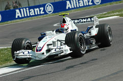 Imola - l'ITALIA, il 21 marzo: Robert Kubica su Sauber BMW F1 al GP 2006 F1 di San Marino il 21 marzo 2006 Immagini Stock Libere da Diritti