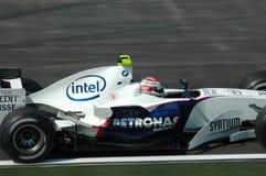 Imola - l'ITALIA, il 21 marzo: Robert Kubica su Sauber BMW F1 al GP 2006 F1 di San Marino il 21 marzo 2006 Immagine Stock