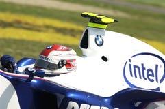 Imola - l'ITALIA, il 21 marzo: Robert Kubica su Sauber BMW F1 al GP 2006 F1 di San Marino il 21 marzo 2006 Fotografie Stock Libere da Diritti