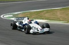 Imola - l'ITALIE, le 21 mars : Robert Kubica sur Sauber BMW F1 au généraliste 2006 F1 du Saint-Marin le 21 mars 2006 Photo stock