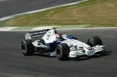 Imola - l'ITALIE, le 21 mars : Robert Kubica sur Sauber BMW F1 au généraliste 2006 F1 du Saint-Marin le 21 mars 2006 Photographie stock
