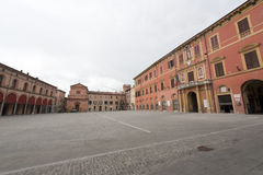 Imola - Main square Stock Photography
