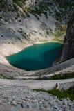 Imotski, berühmter blauer See in Kroatien Stockbilder