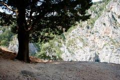Imotski, berühmter blauer See in Kroatien Lizenzfreie Stockfotos