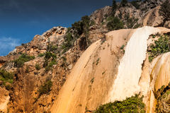 Imouzzer Waterfall near Agadir, Morocco stock photography
