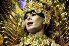Império de Casa Verde - Carnaval - São Pablo, el Brasil 2015 Imagenes de archivo