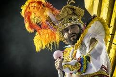 Império de Casa Verde - Carnaval - São Pablo, el Brasil 2015 Fotos de archivo libres de regalías