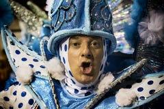 Império de Casa Verde - Carnaval - São Pablo, el Brasil 2015 Imagen de archivo libre de regalías
