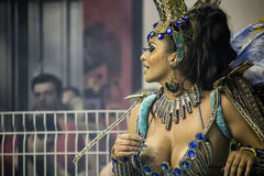 Império DE Casa Verde - Carnaval - São Paulo, Brazilië 2015 Royalty-vrije Stock Afbeelding