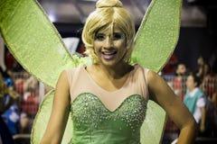 Império de Casa Verde - danseur São Paulo, Brésil 2015 de Carnaval Photos stock