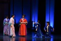 Impératrices interroger-désillusion-modernes de drame dans le palais Image libre de droits