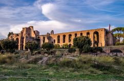 Impérial pour un site archéologique à Rome Photographie stock
