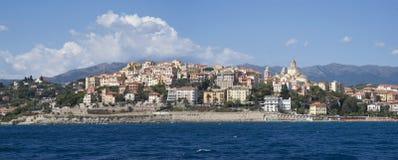 Impérios Riviera italiano Foto de Stock