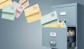 Impôt et comptabilité photographie stock libre de droits