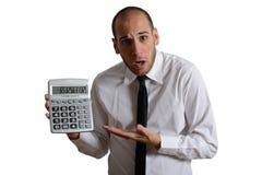 Impôt et crise Photos stock