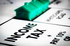 Impôt sur le revenu Images stock