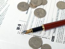 Impôts photographie stock